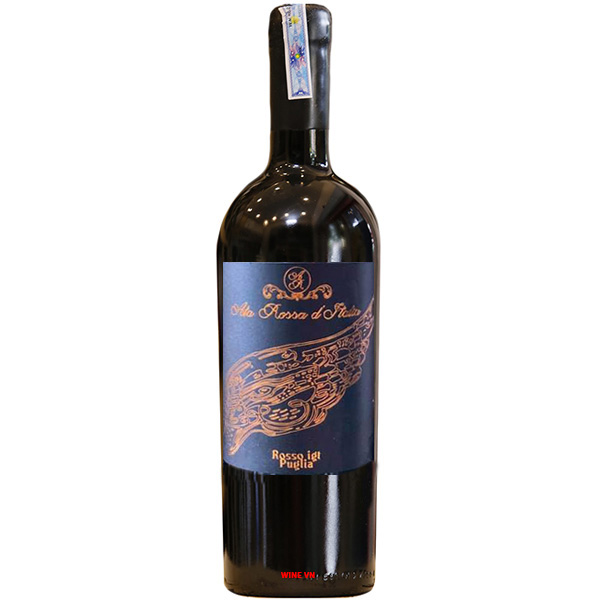 Rượu Vang Ala Rossa D'Italia Rosso IGT Puglia