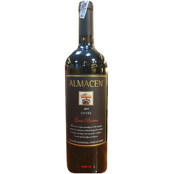 Rượu Vang Almacen Cuvee Gran Reserva