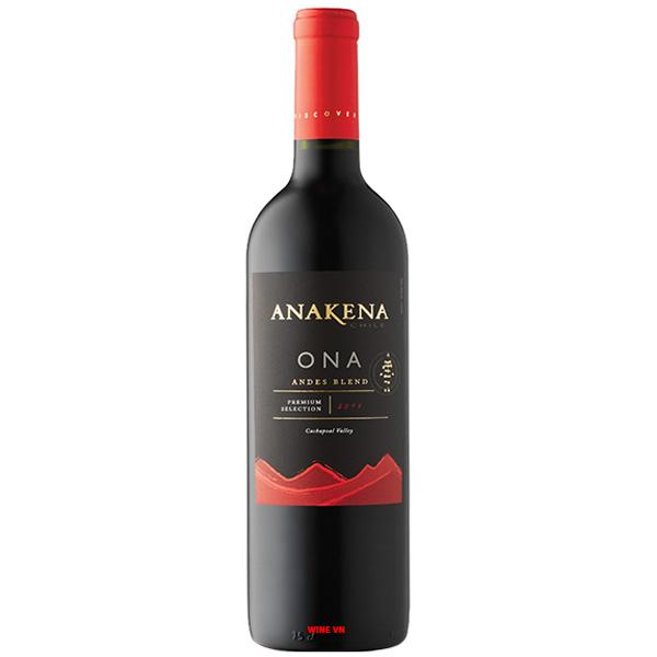 Rượu Vang Anakena Ona Andes Blend
