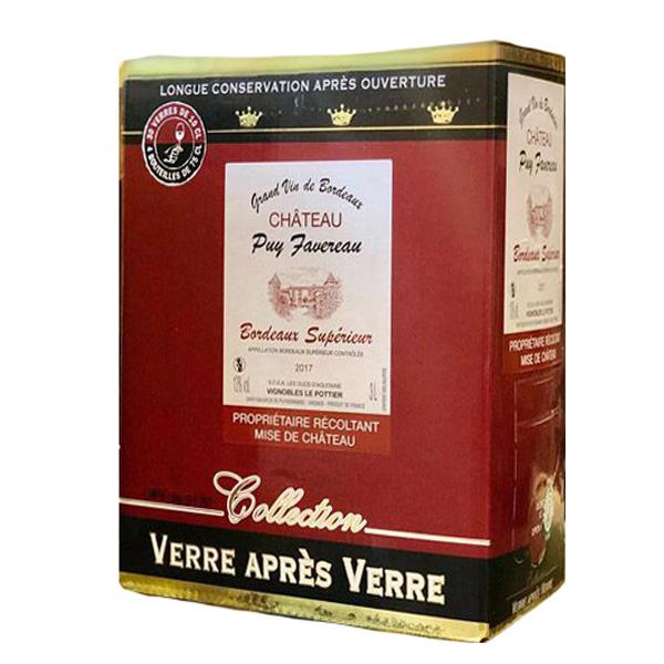 Rượu Vang Bịch Chateau Puy Favereau