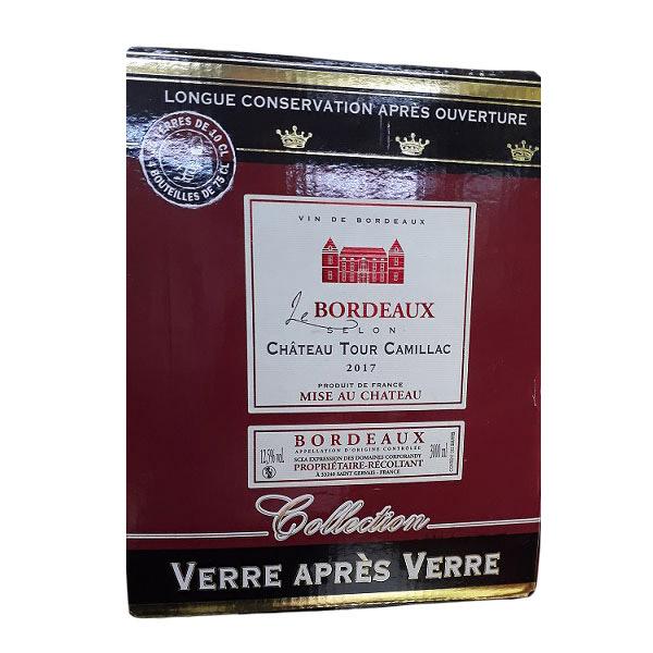 Rượu Vang Bịch Chateau Tour Camillac