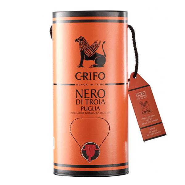 Rượu Vang Bịch Crifo Nero Di Troia Puglia