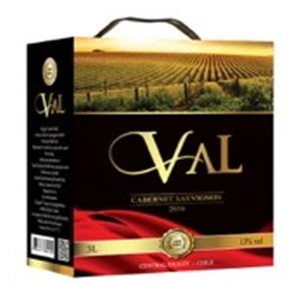 Rượu Vang Bịch Val Cabernet Sauvignon