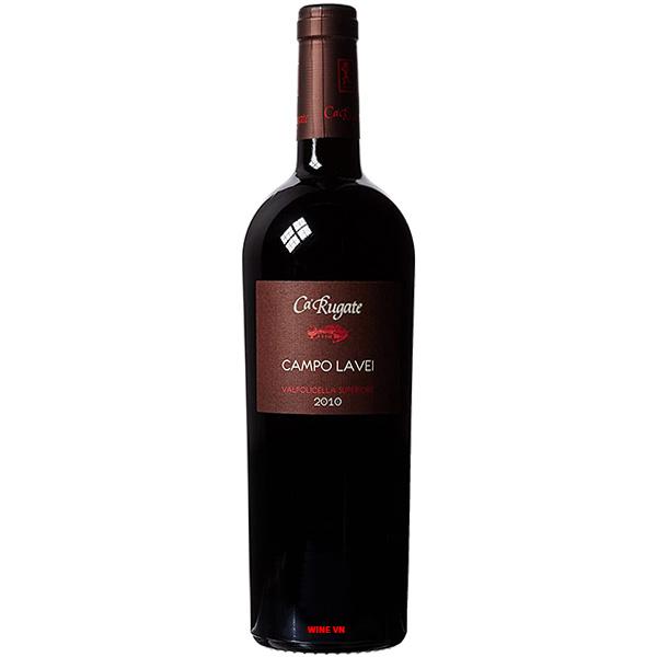 Rượu Vang Ca Rugate Campo Lavei Valpolicella Superiore