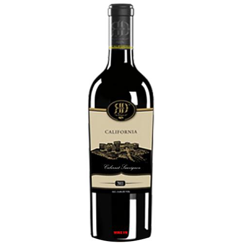 Rượu Vang California Black Cabernet Sauvignon