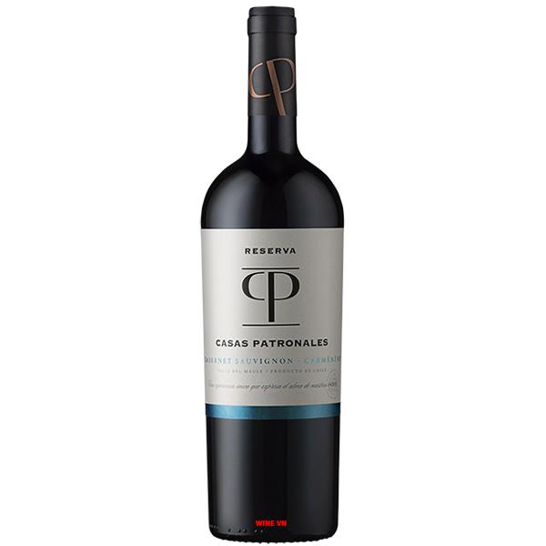 Rượu Vang Casas Patronales Reserva Cabernet Sauvignon - Carmenere