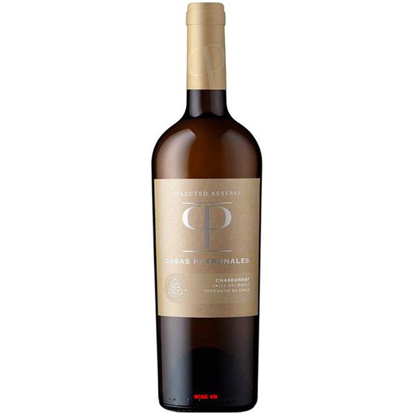 Rượu Vang Casas Patronales Selected Reserva Chardonnay