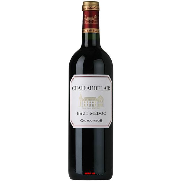 Rượu Vang Chateau Bel Air Haut Medoc