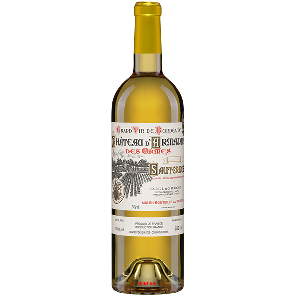 Rượu Vang Chateau D'Armajan Des Ormes