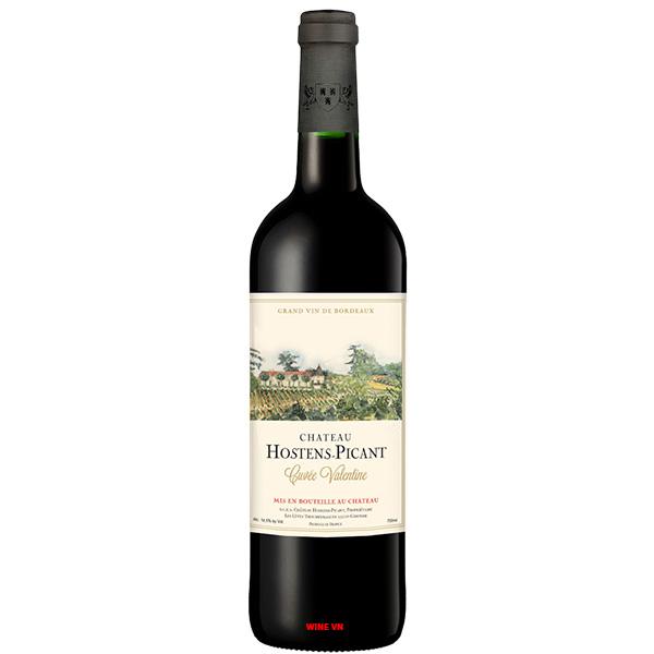 Rượu Vang Chateau Hostens Picant Cuvee Valentine