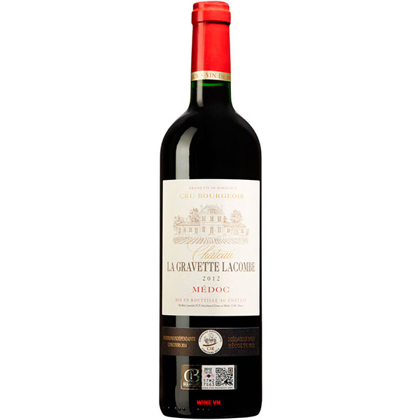 Rượu Vang Chateau La Gravette Lacombe