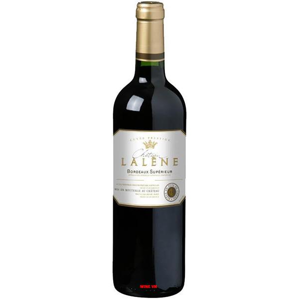 Rượu Vang Chateau Lalene