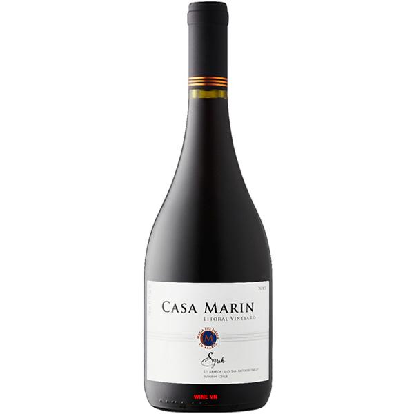 Rượu Vang Chile Casa Marin Syrah