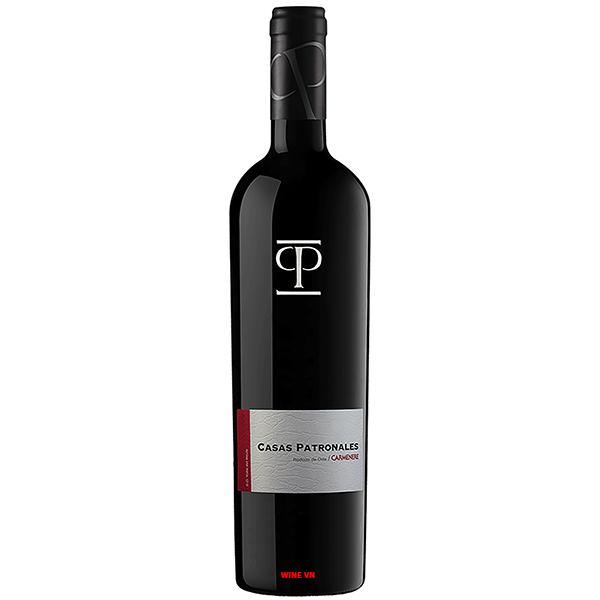 Rượu Vang Chile Casas Patronales Camenere
