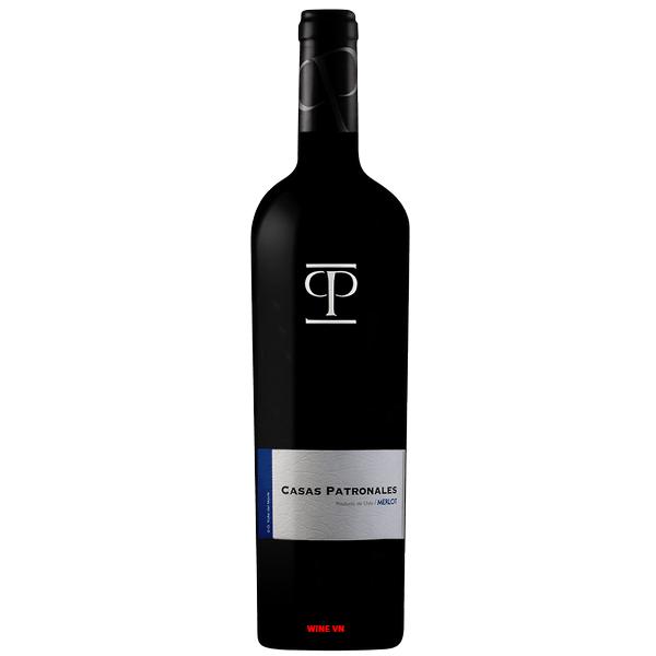 Rượu Vang Chile Casas Patronales Merlot