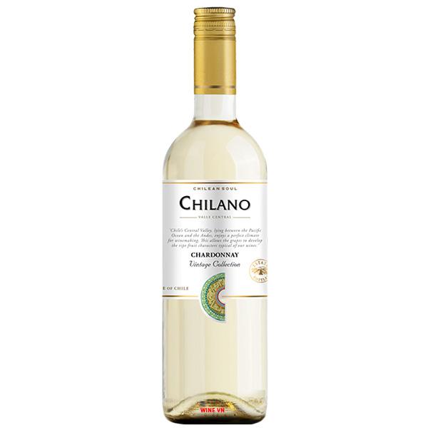 Rượu Vang Chile Chilano Chardonnay