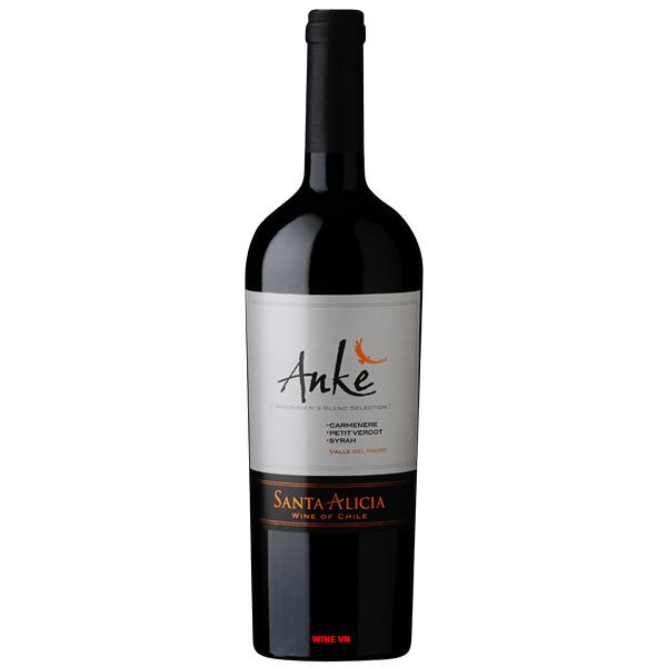 Rượu Vang Chile Santa Alicia Anke