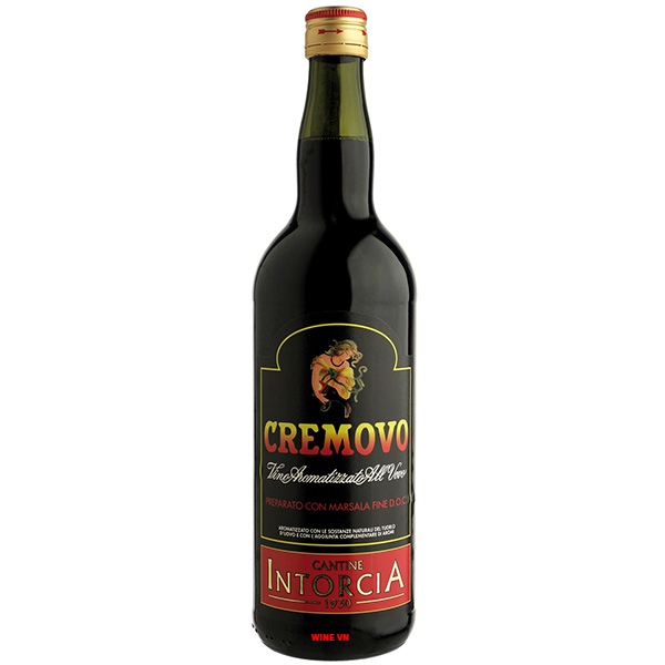 Rượu Vang Cremovo Vino Aromatizzato All'uovo