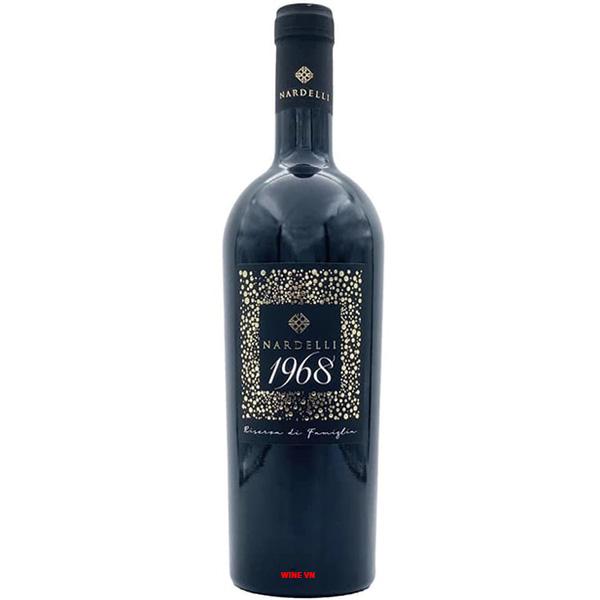 Rượu Vang Đỏ Nardelli 1968