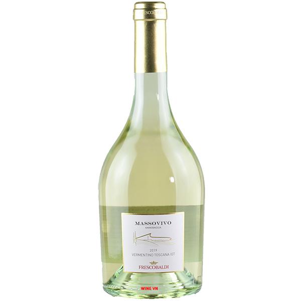 Rượu Vang Frescobaldi Massovivo Ammiraglia