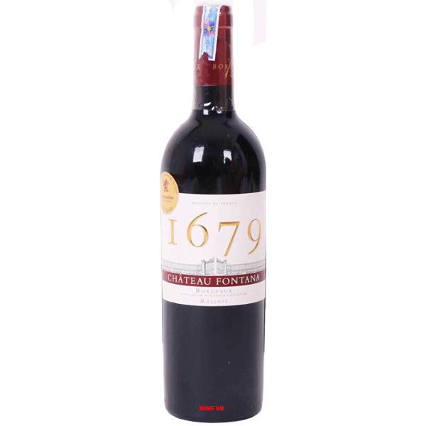 Rượu Vang I679 Chateau Fontana
