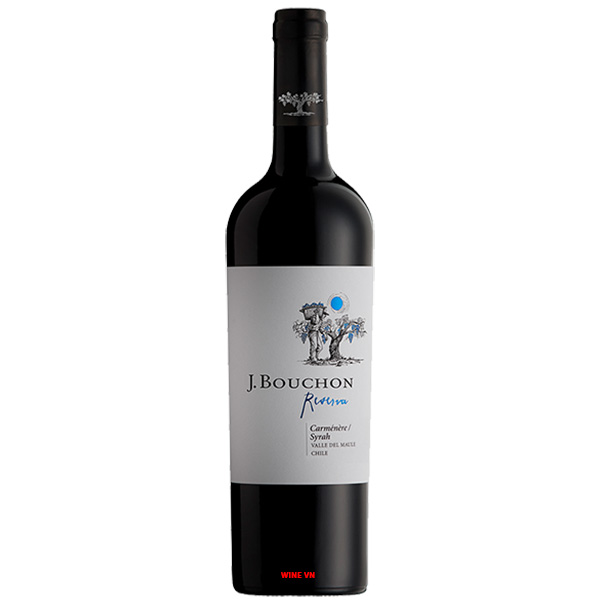 Rượu Vang J.Bouchon Reserva Carmenere - Syrah