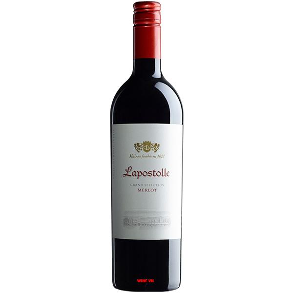Rượu Vang Lapostolle Grand Selection Merlot