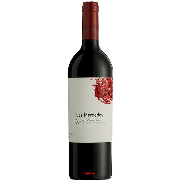 Rượu Vang Las Mercedes Singular Carmenere