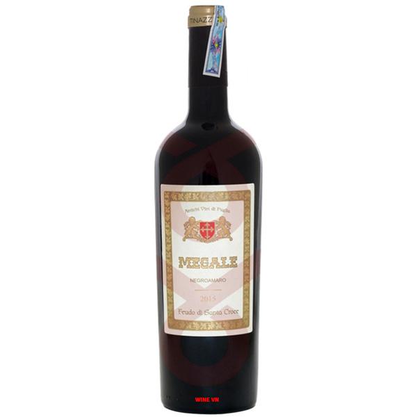 Rượu Vang Megale Negroamaro Tinazzi