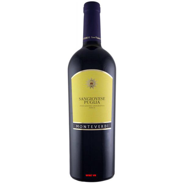 Rượu Vang Monteverdi Sangiovese Puglia