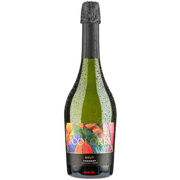 Rượu Vang Nổ 7Colores Brut