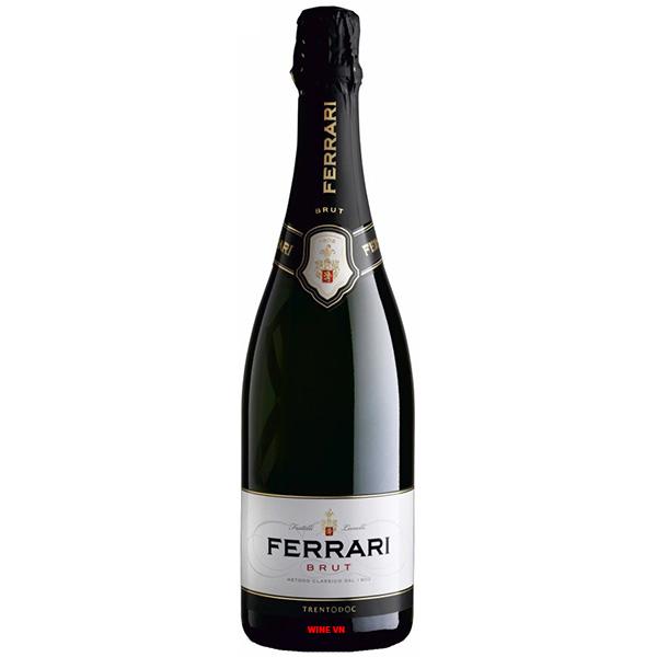 Rượu Vang Nổ Ferrari Brut Trentodoc
