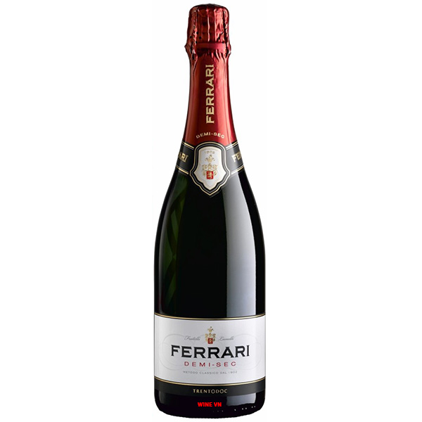 Rượu Vang Nổ Ferrari Demi - Sec Trentodoc