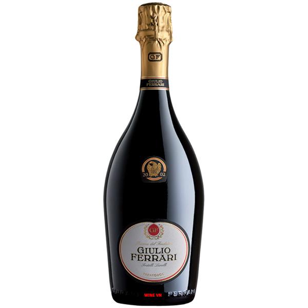 Rượu Vang Nổ Giulio Ferrari Riserva Del Fondatore