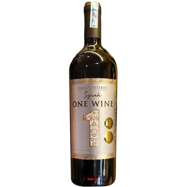 Rượu Vang One Wine Family Reserve Syrah