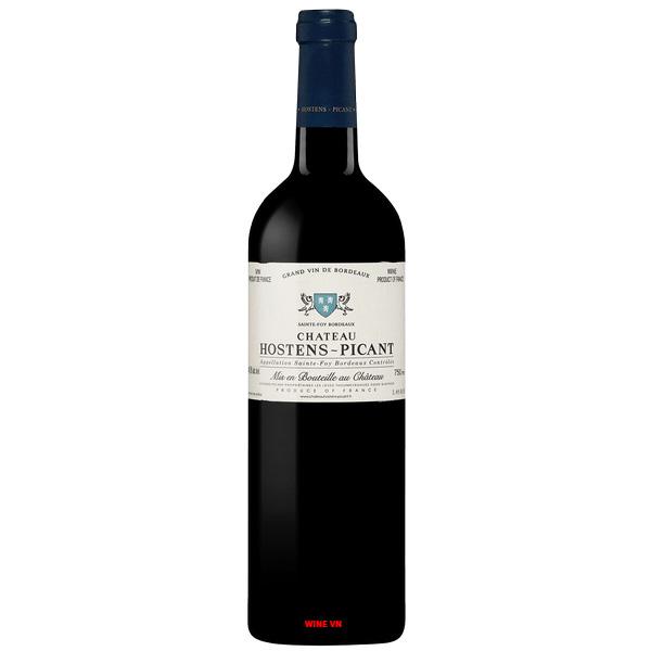 Rượu Vang Pháp Chateau Hostens Picant