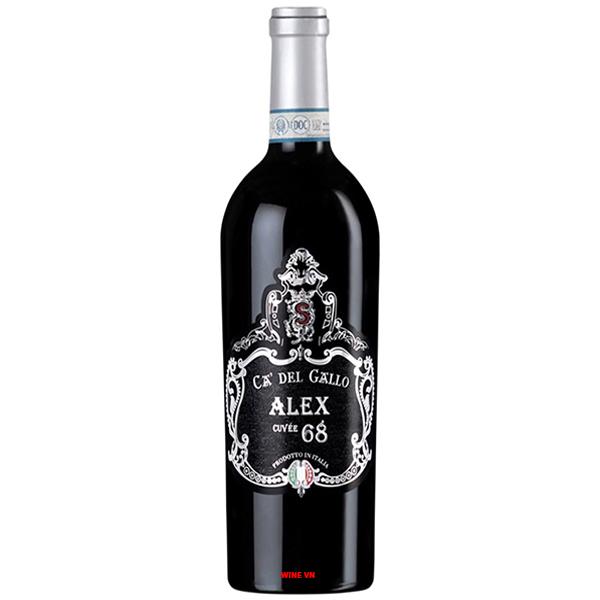 Rượu Vang Salvano Ca Del Gallo Alex 68