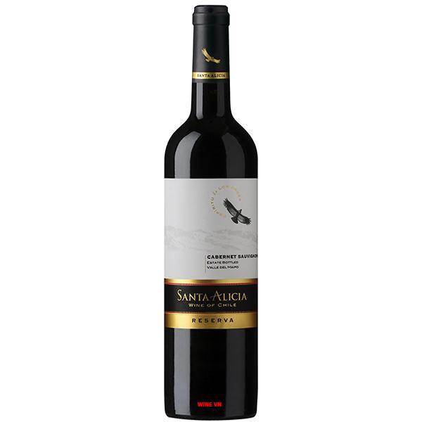 Rượu Vang Santa Alicia Reserva Cabernet Sauvignon
