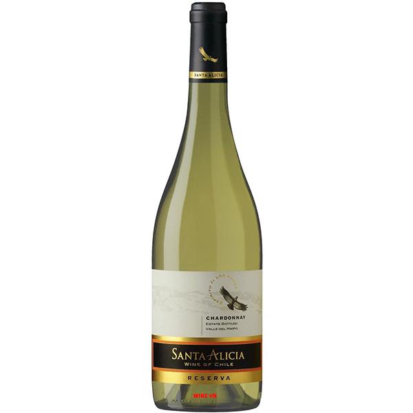 Rượu Vang Santa Alicia Reserva Chardonnay