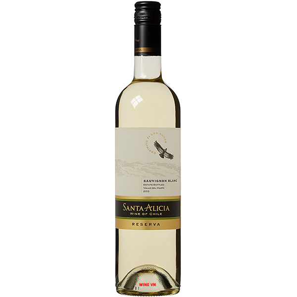 Rượu Vang Santa Alicia Reserva Sauvignon Blanc
