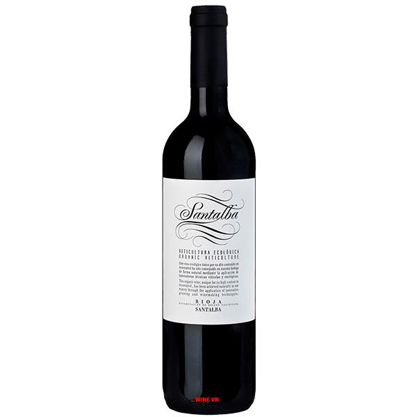 Rượu Vang Santalba Organic