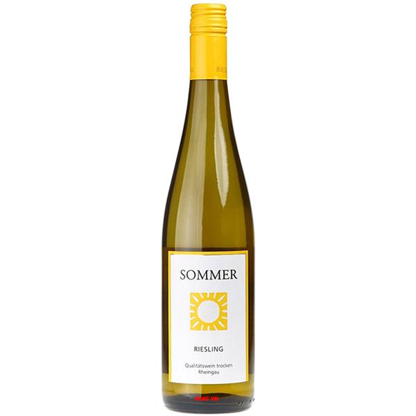 Rượu Vang Sommer Riesling