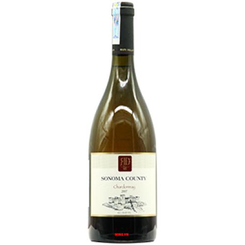 Rượu Vang Sonoma County Chardonnay