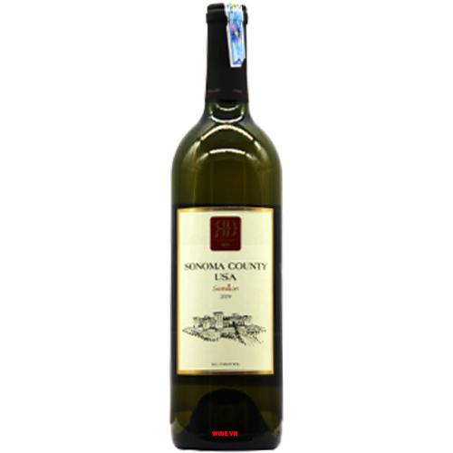 Rượu Vang Sonoma County Semilon