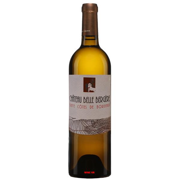 Rượu Vang Trắng Château Belle Bergere