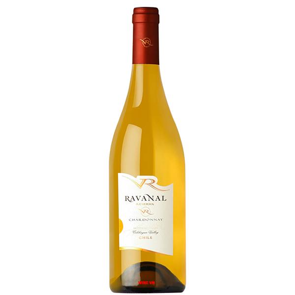 Rượu Vang Trắng Ravanal Reserva Chardonnay