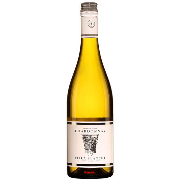 Rượu Vang Trắng Villa Blanche Chardonnay