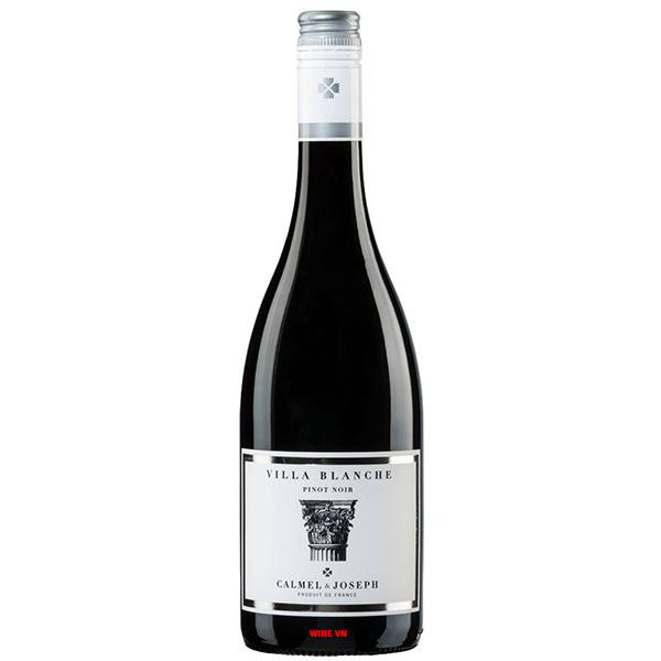 Rượu Vang Villa Blanche Pinot Noir Calmel & Joseph
