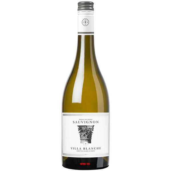 Rượu Vang Villa Blanche Sauvignon Blanc