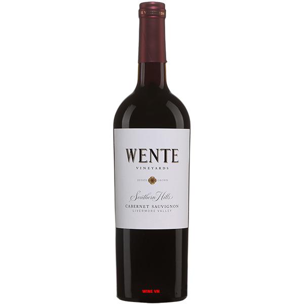 Rượu Vang Wente Southern Hills Cabernet Sauvignon